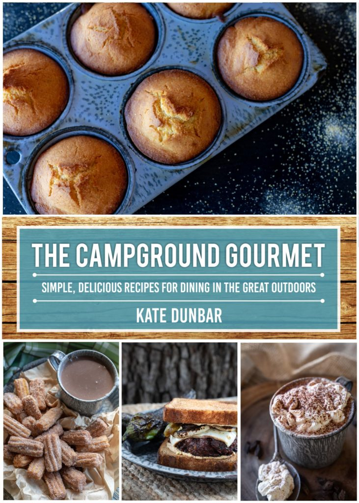 the campground gourmet cookbook - now available on amazon