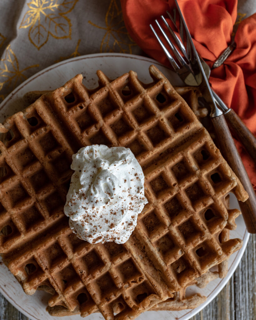 Spice waffle the campground gourmet